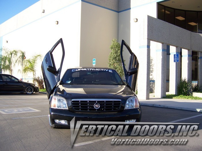 Vertical Doors bolt on lambo door kit for 2000 2001 2002 2003 & 00-05 CADILLAC DEVILLE VERTICAL DOORS LAMBO KIT BOLT ON VDI - Rim ...