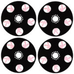Bunny design custom brake cover shields for Caprice, Impala, Cutlass, Monte Carlo, Chevy, Crown vic and more.