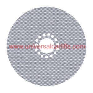 Steel mesh dust covers for Caprice, Impala, Cutlass, Monte Carlo, and more.