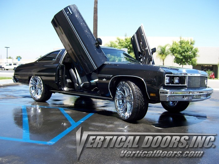 71 76 Chevy Impala Vertical Doors Lambo Kit Bolt On Vdi
