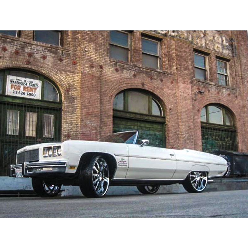 Rides Magazine cars for sale include this 1975 donk convertible featured in the current issue.