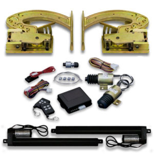 Automatic lambo door kit for Caprice, Impala, Cutlass and Monte Carlo incluldes installation instructions.