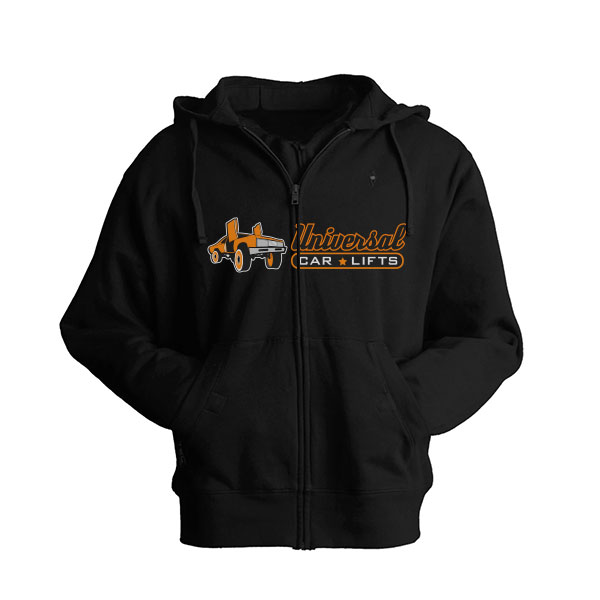 Black donk clothing hoodie from UCL.