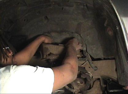 Showing how to remove and install an upper control arm in a caprice, impala, 88, cutlass, grand prix and regal.