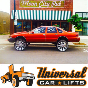 bubble caprice custom parts for old school chevy drop top. car lift kits wholesale with asanti wheels.