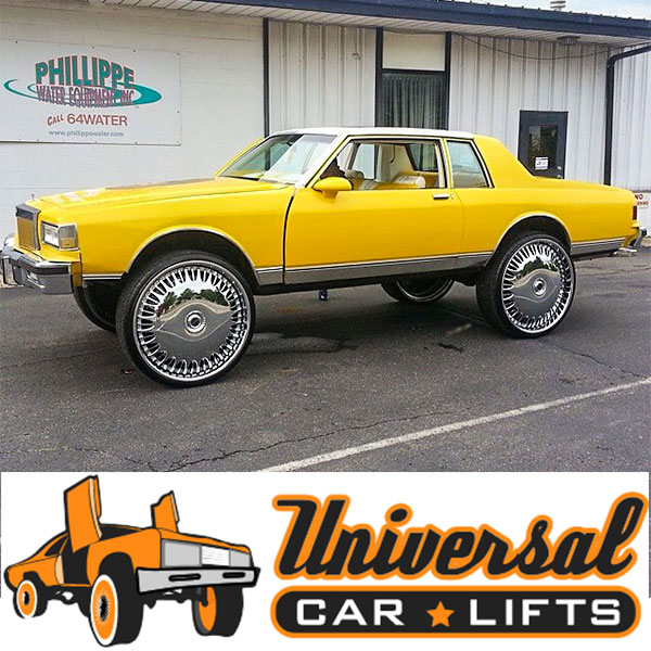 Customer Pictures of Lifted 77-90 Chevy Box Caprice, Impala, Delta