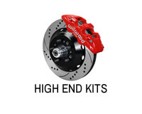 Shop high end brake kits for Donk type cars.