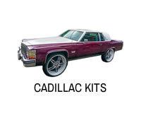 Shop for rear wheel drive Cadillac lift kits.