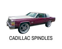 Shop for Cadillac lift spindles.