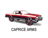 Shop tubular front control arms extended for Caprice, Impala, Delta 88, Belair, LeSabre and more B Bodies.