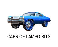 Shop lambo door kits for Caprice, Impala, LeSabre and other B body cars.
