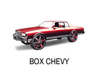 Shop for lift spindles for a Caprice box Chevy.