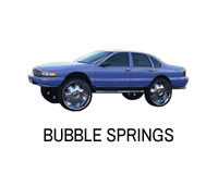 Shop for Chevy Caprice and Impala lift springs for bubble.