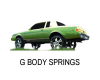 Shop for Monte Carlo lift springs and Cutlass.