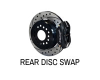 Shop rear disc brake conversion upgrade kits.