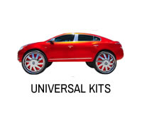 Universal cheap strut modification lift kit for all cars.