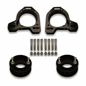 Strut top lift kit spacers custom built for any vehicle.