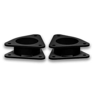 strut spacer that goes between the strut top and car to give ground clearance for Ford Escape, C-Max, Focus, and Transit Connect